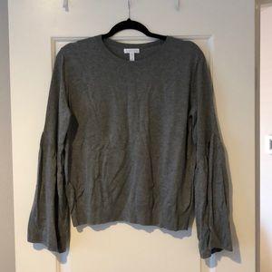 Sweater- bell sleeve